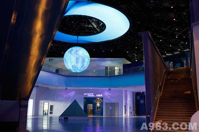 2013锦州世界园艺博览会-海洋科技馆灯光设计