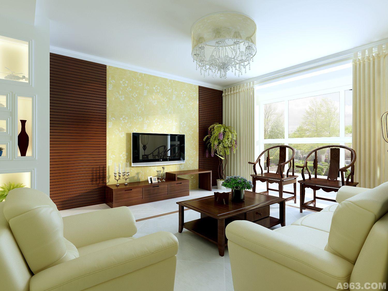 设计师: 王寅思      作品类别:家装设计      新中式风格说明