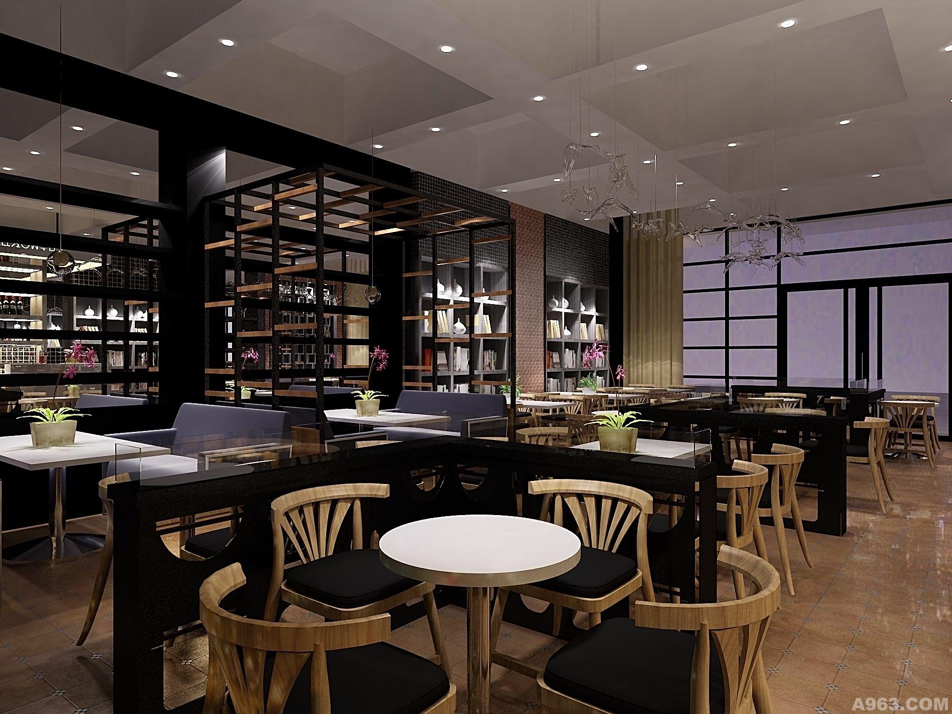 意浓咖啡店 - 公共空间 - 北京室内设计网_北京室内