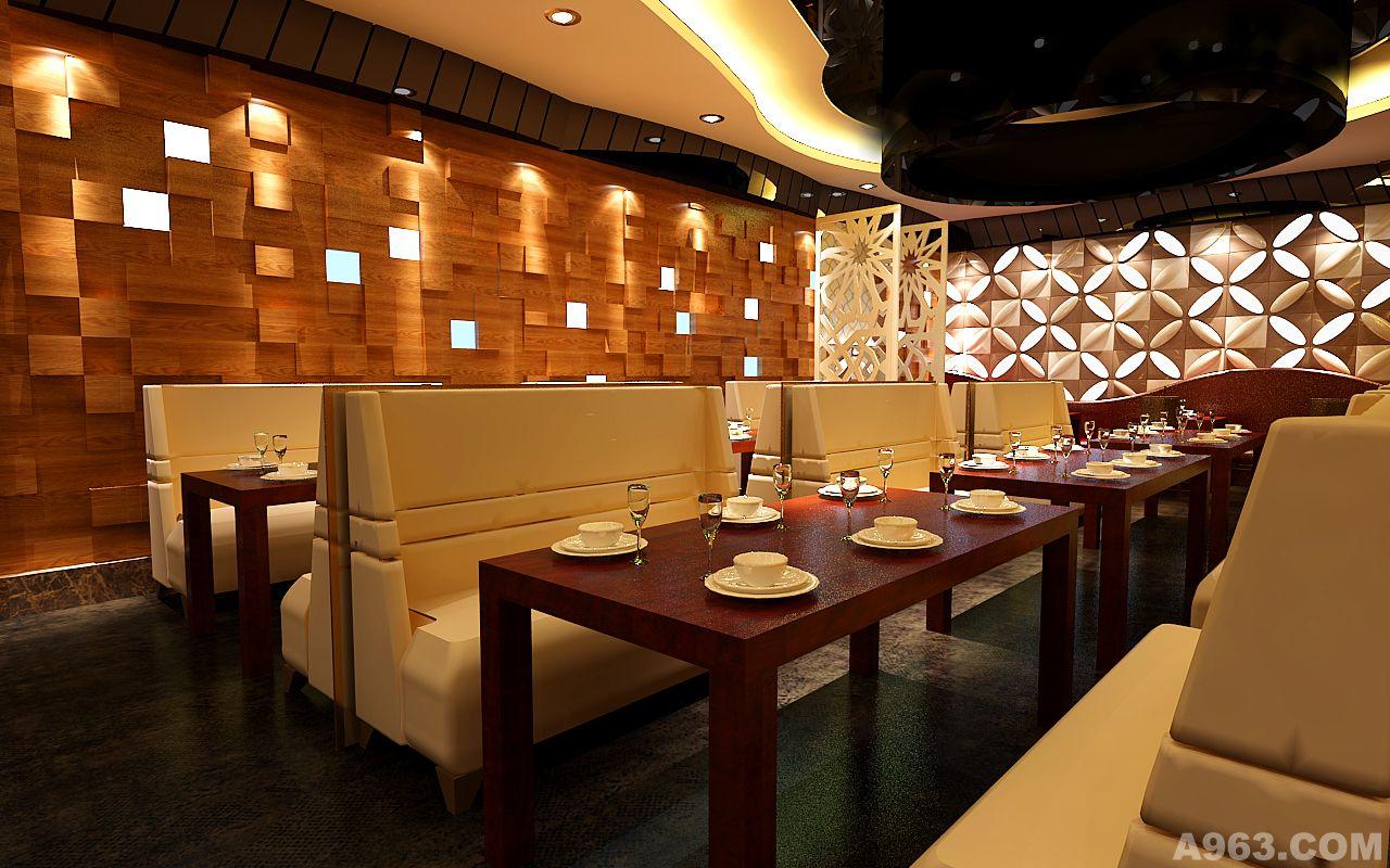 海鲜船自助餐厅设计方案