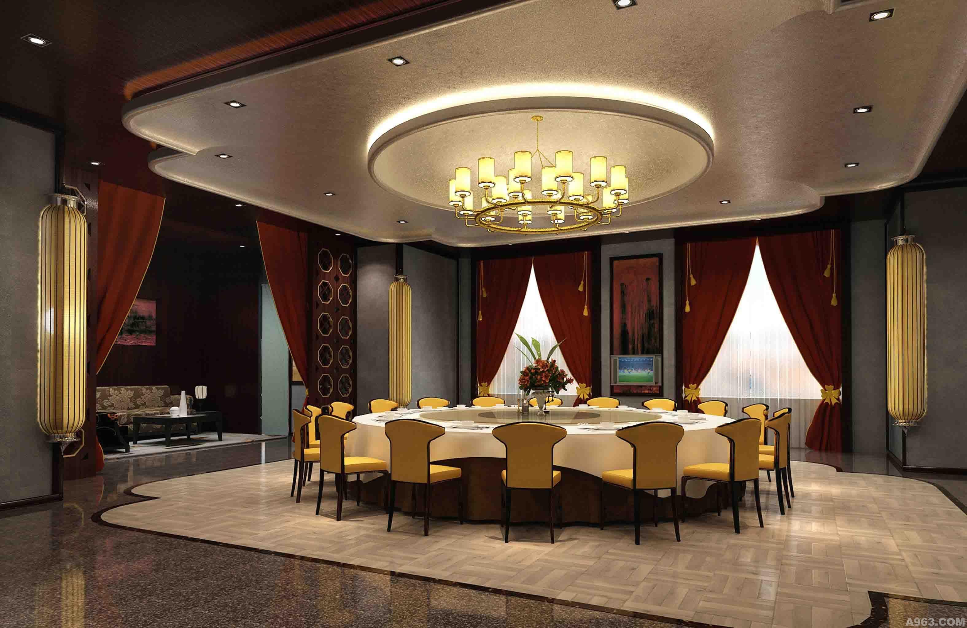 赤峰宾馆 - 酒店设计 - 北京室内设计网_北京室内设计