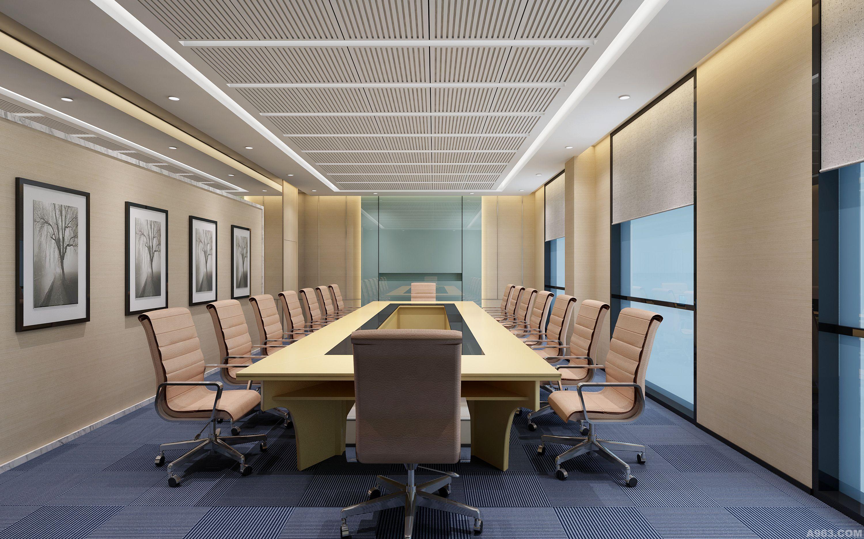 榆树庄(北京)房地产开发公司办公室设计