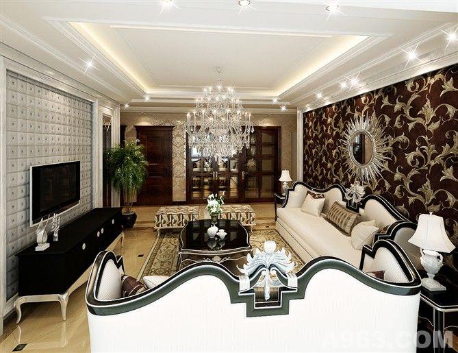 欧式风格设计 - 家装设计 - 北京室内设计网_北京室内
