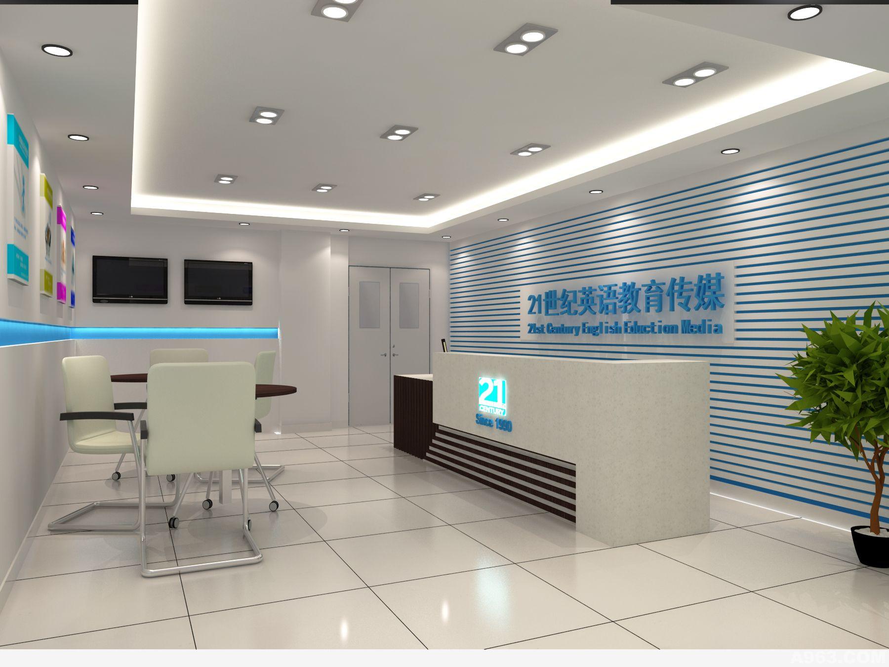 中华室内设计网 作品中心 公共空间 办公空间 > 陈伟作品