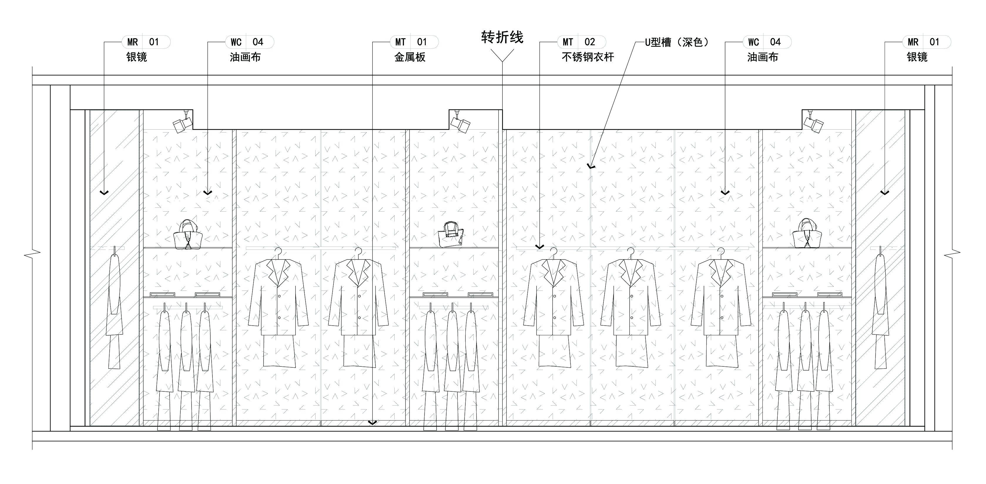 玉臻國際精品服裝店 - 展示空間 - 第4頁 - 郭明設計