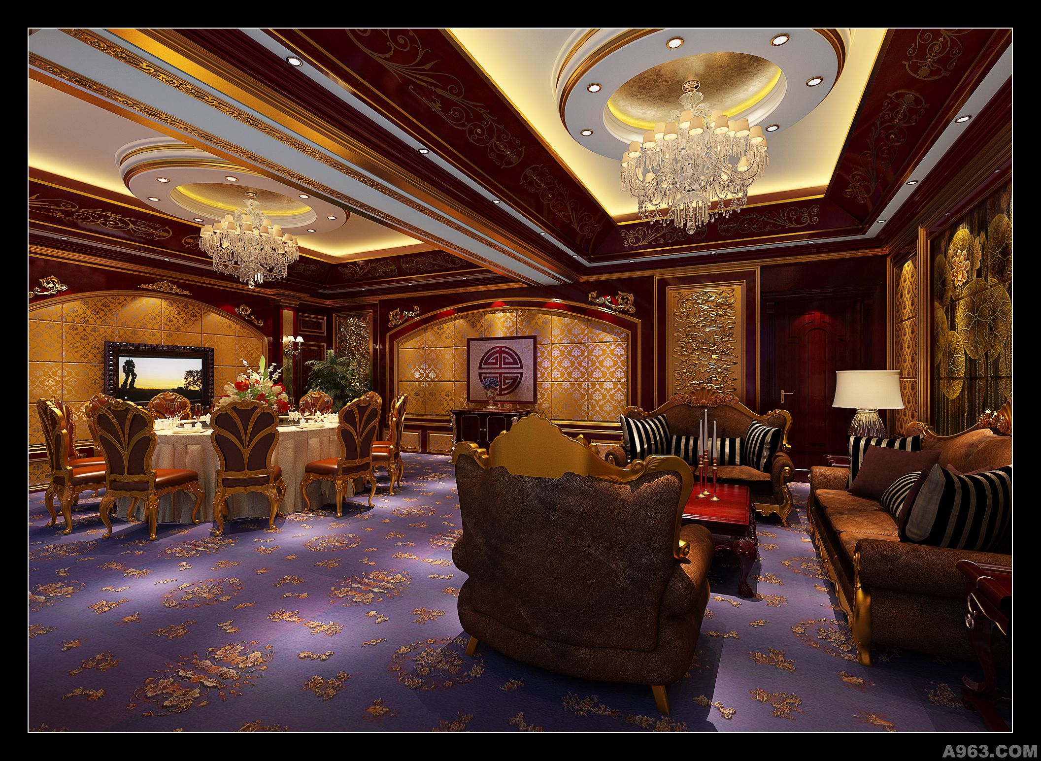 李擎精彩演绎欧式新古典主义别墅说明图片