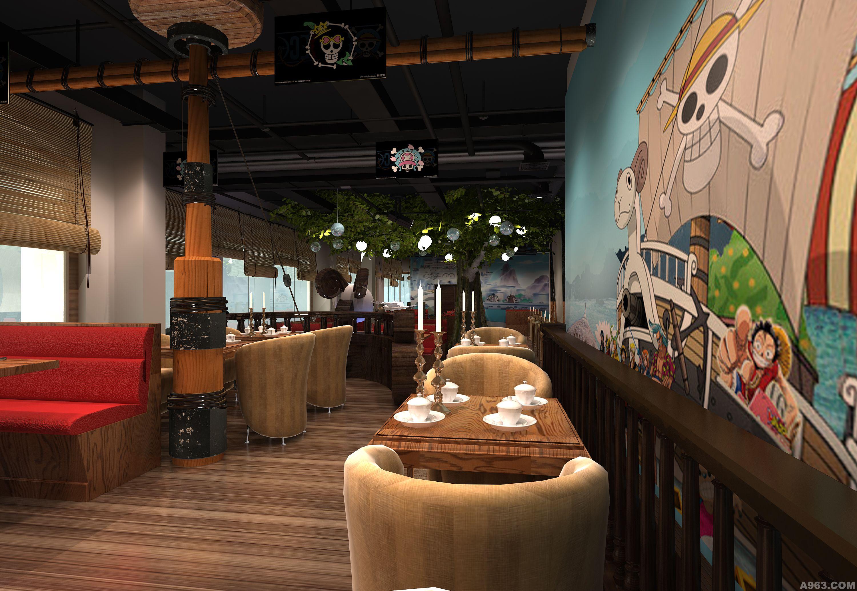 北京海贼王主题餐厅 - 餐饮空间 - 北京室内设计网__.