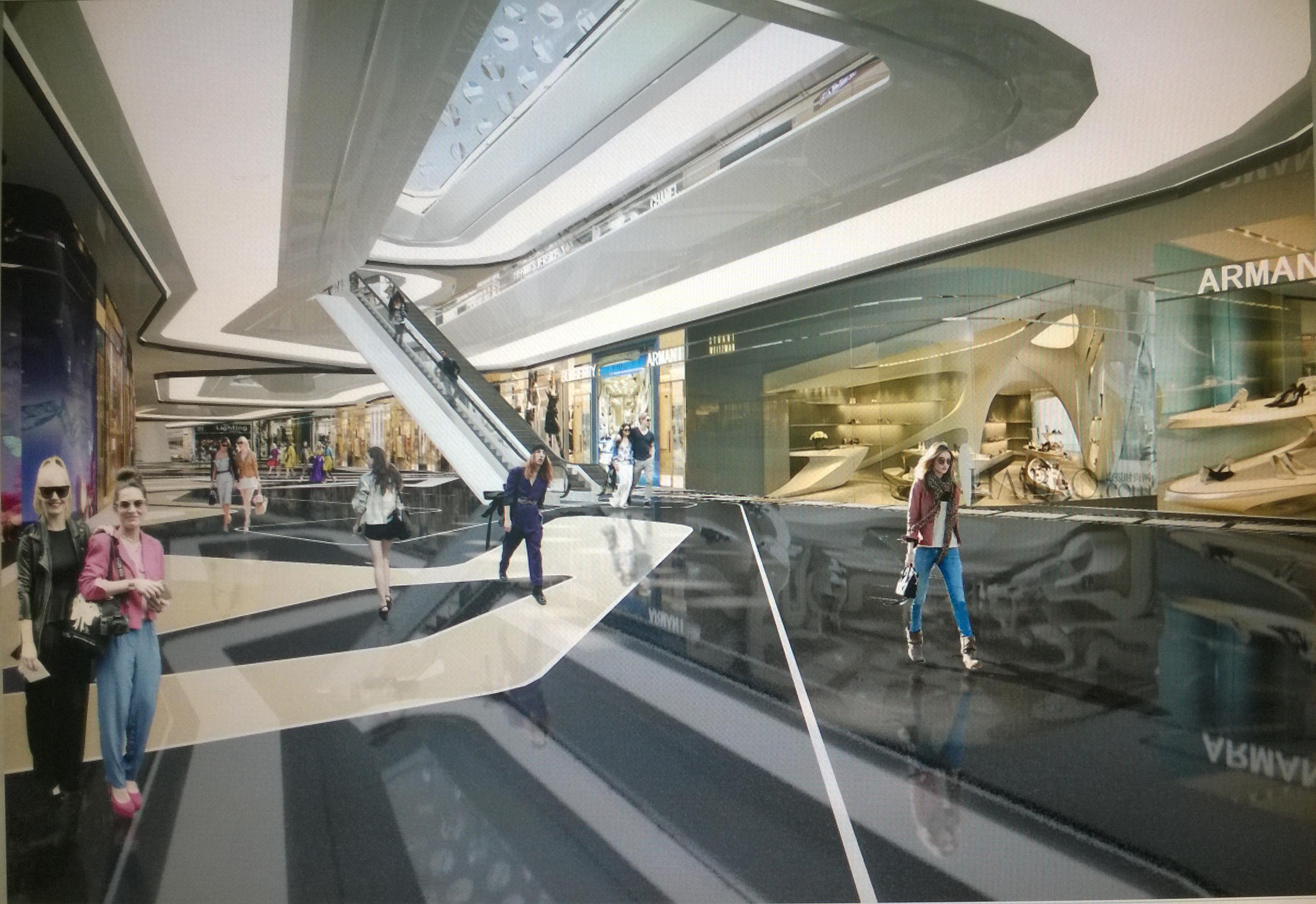 商業空間設計作品 – 方案 – 經典案例 - 中華室內網