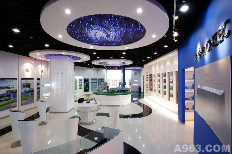 展厅设计案例:中国电工设备总公司展厅说明
