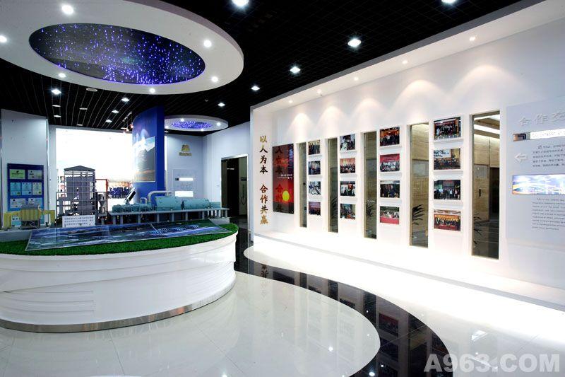 展厅设计案例:中国电工设备总公司展厅 - 展示空间