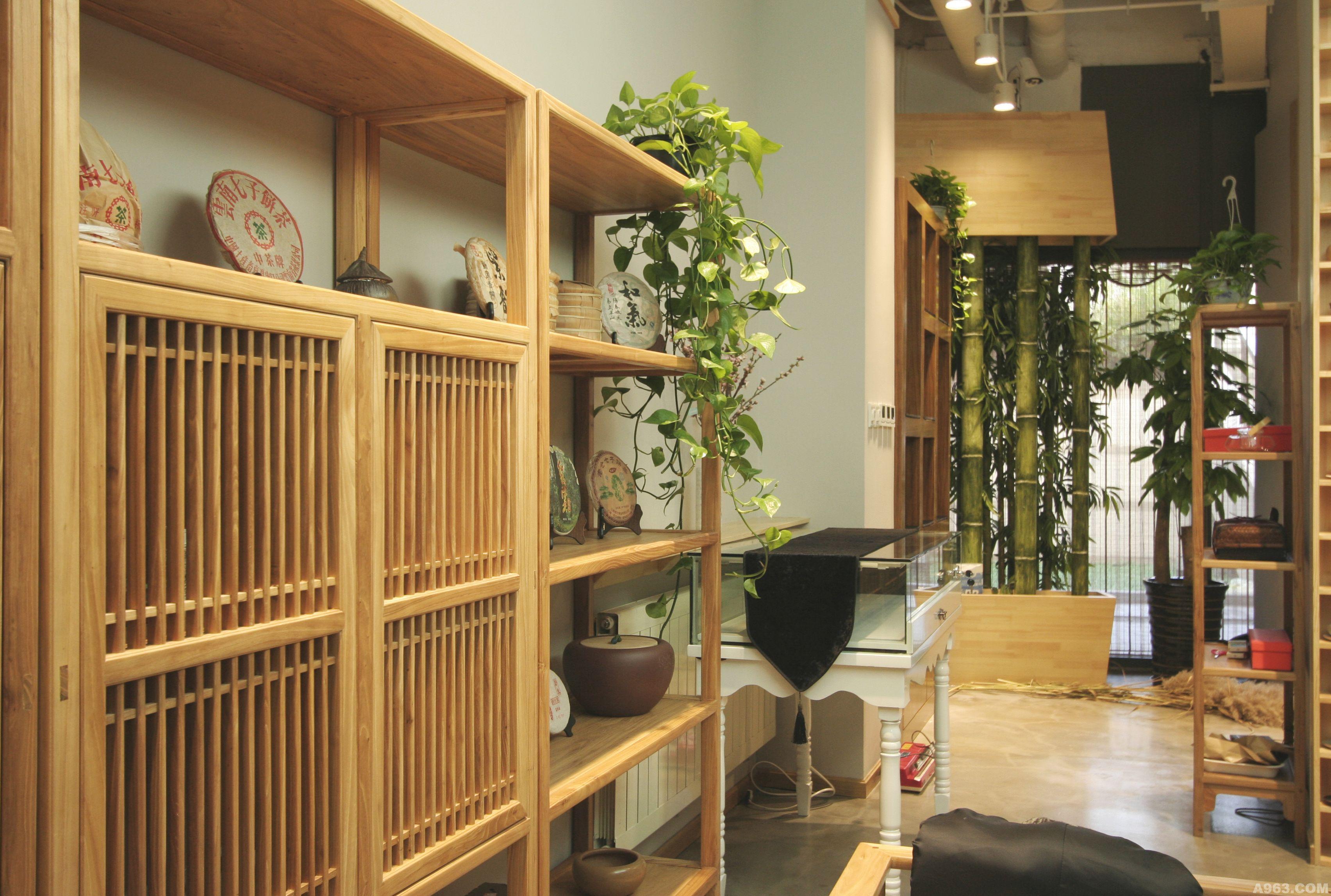 木兰茶舍 - 商业空间 - 荆弸菲设计作品案例