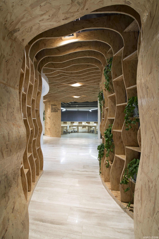 成都-汇巢室内设计机构—办公空间说明