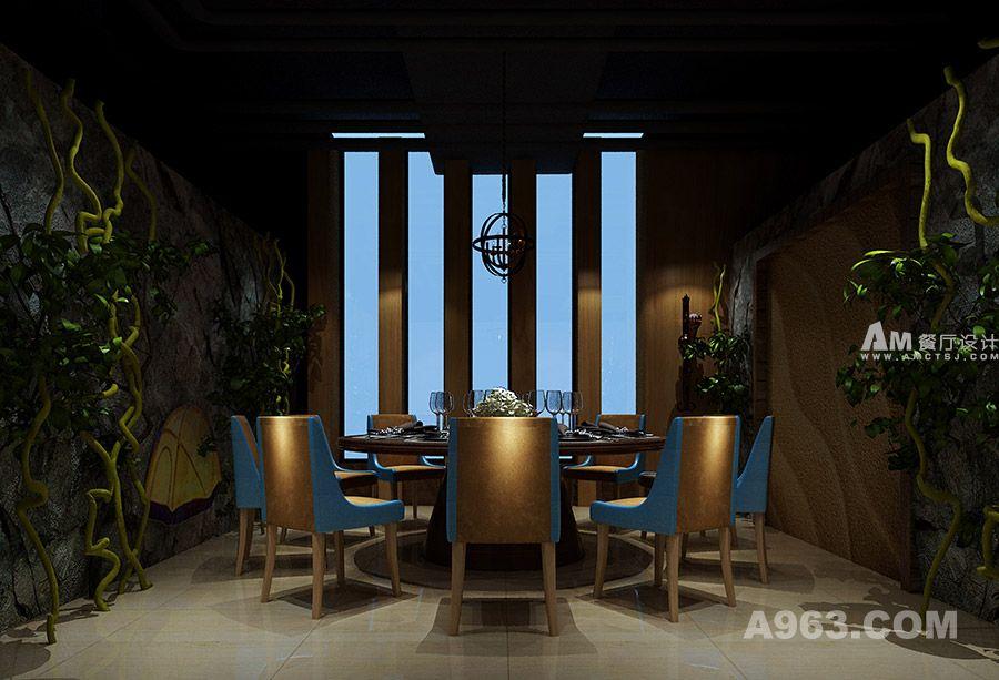 爱尚鱼文化餐厅设计 - 餐饮空间 - 雷雨明设计作品案例