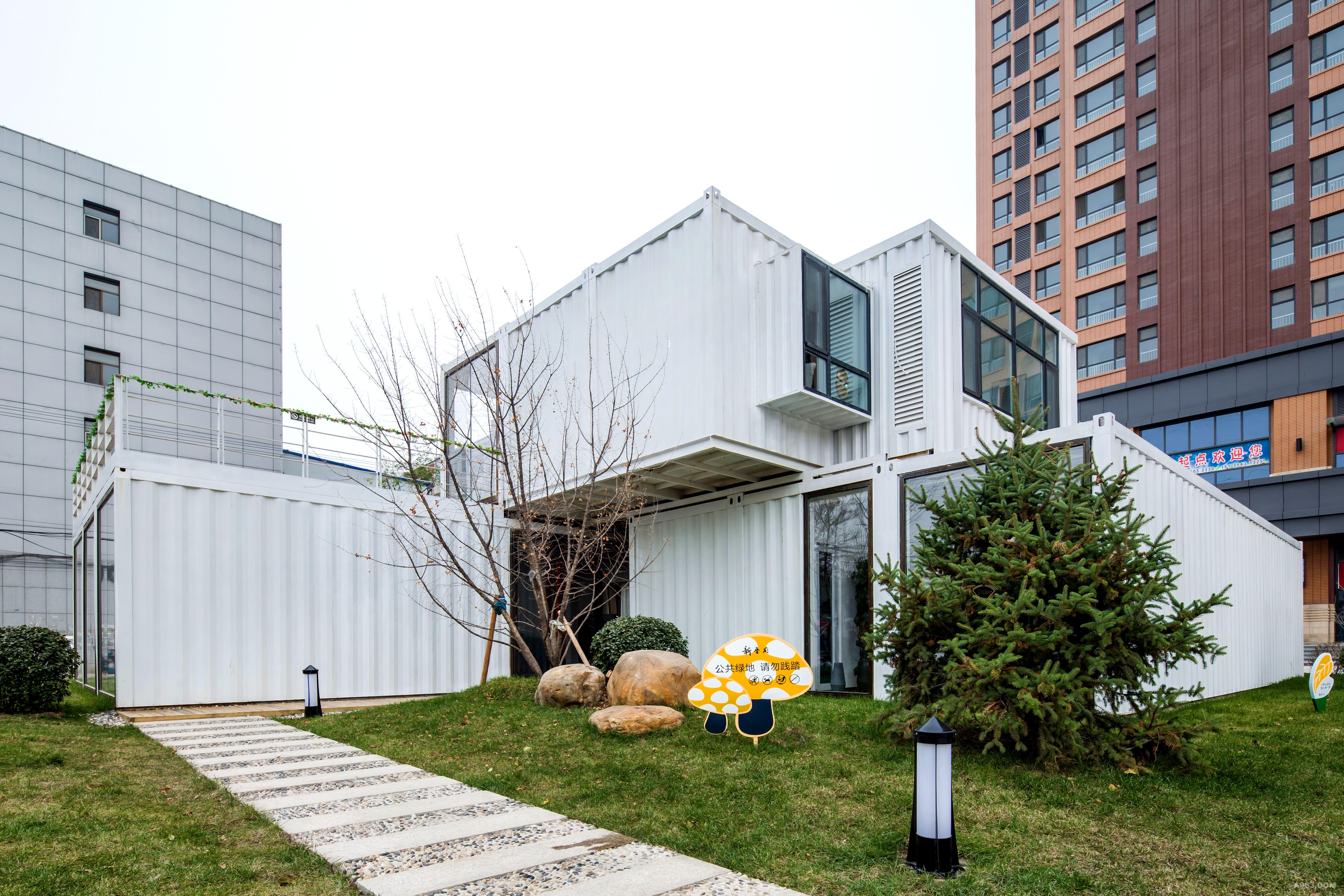 北京海岸集装箱设计案例——山西新晋府集装箱之家