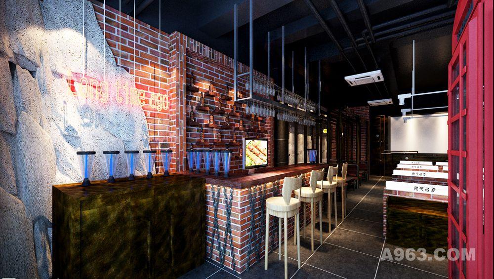 北京很久以前烧烤顺义后沙峪店装修设计案例,王本设计