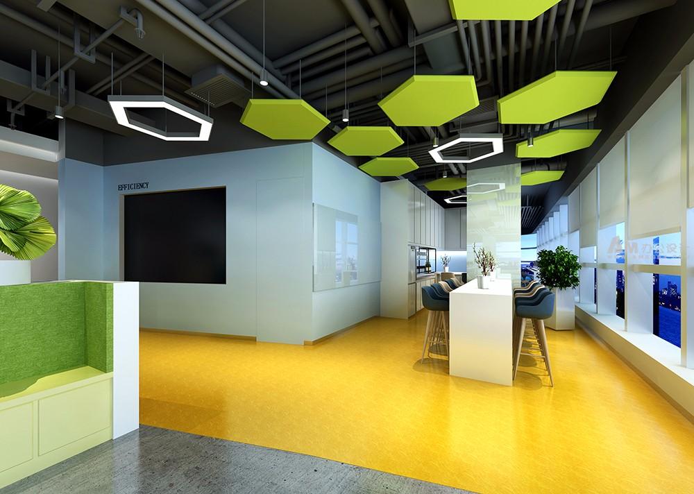 AM设计|AM网络科技办公空间设计-AM阿尔西制冷技术办公空间设计-AM办公空间设计 阿尔西制冷技术公司的业务面向世界。目前,阿尔西公司想为自己的办公区域做一些新的调整,AM设计非常荣幸的受托阿尔西制冷之邀承接了该项目。该项目设计师团队的思路为在安全实用的基础上,达到整体协调,在不影响大格局的前提下,做出独树一帜的风格。由于是制冷公司,主题选用偏冷色调的设计,符合公司的气质。 该项目应客户的喜好,设计风格偏欧洲简约风格,地面采用了水泥自流平工艺,整体感觉简洁规整。 进入前厅,一股清凉之感扑面而来。前期我们