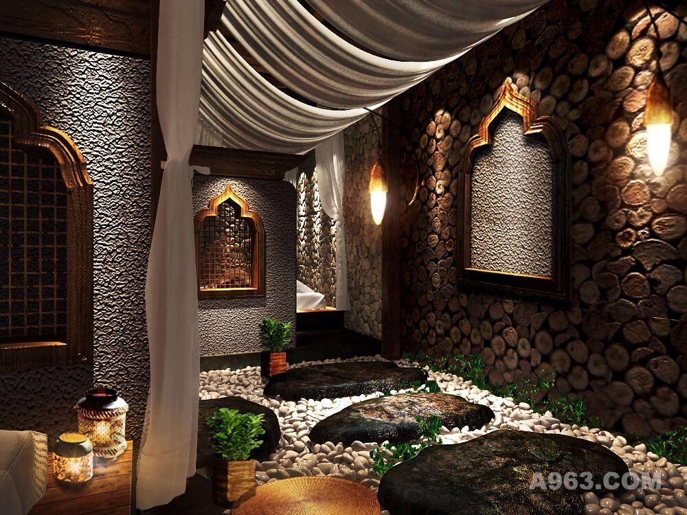 云南西双版纳六度别院民宿设计方案 - 室内设计 - 第9