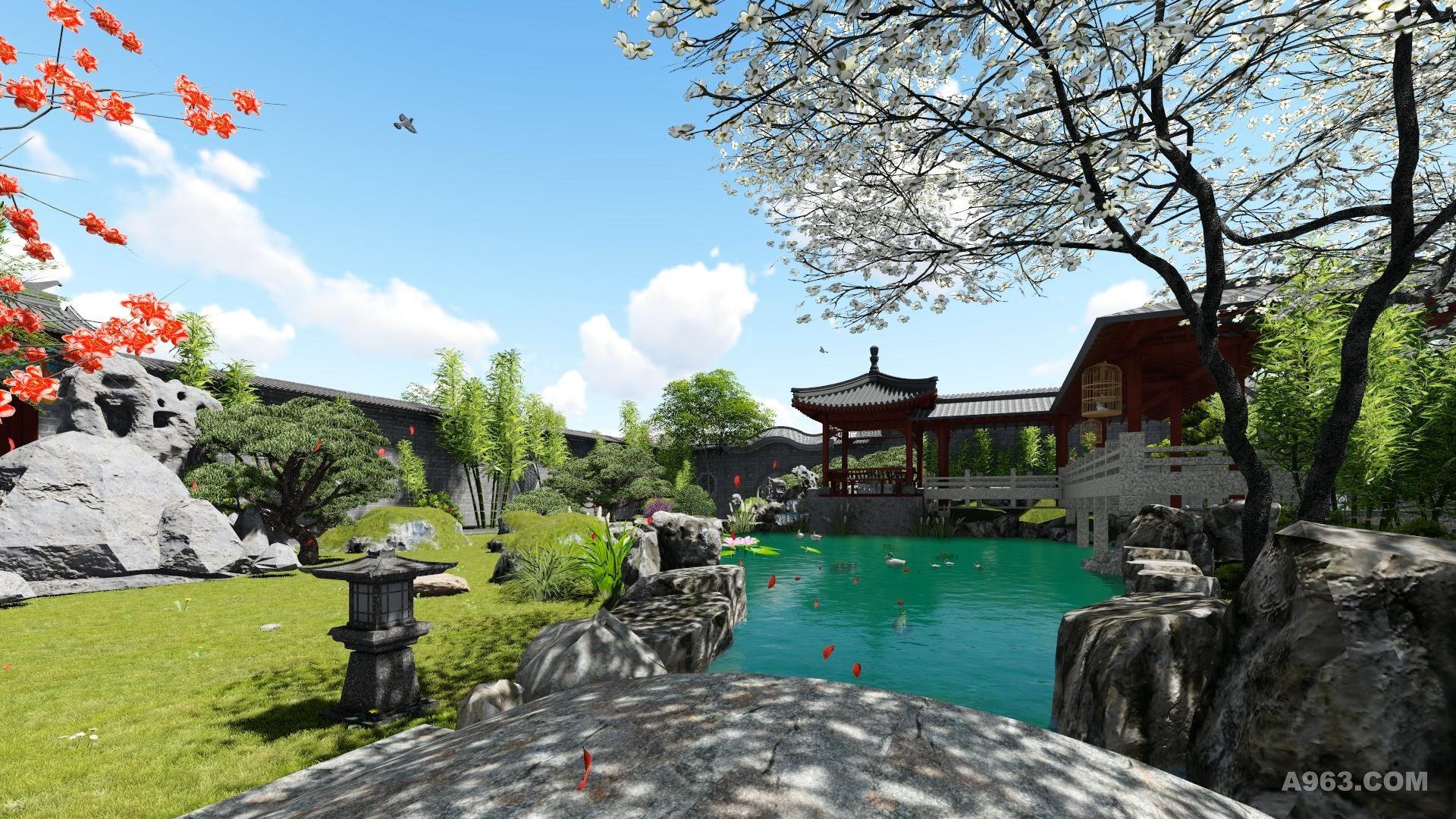 杨家大院,中式庭院,世间最雅致的院子 - 居住区景观