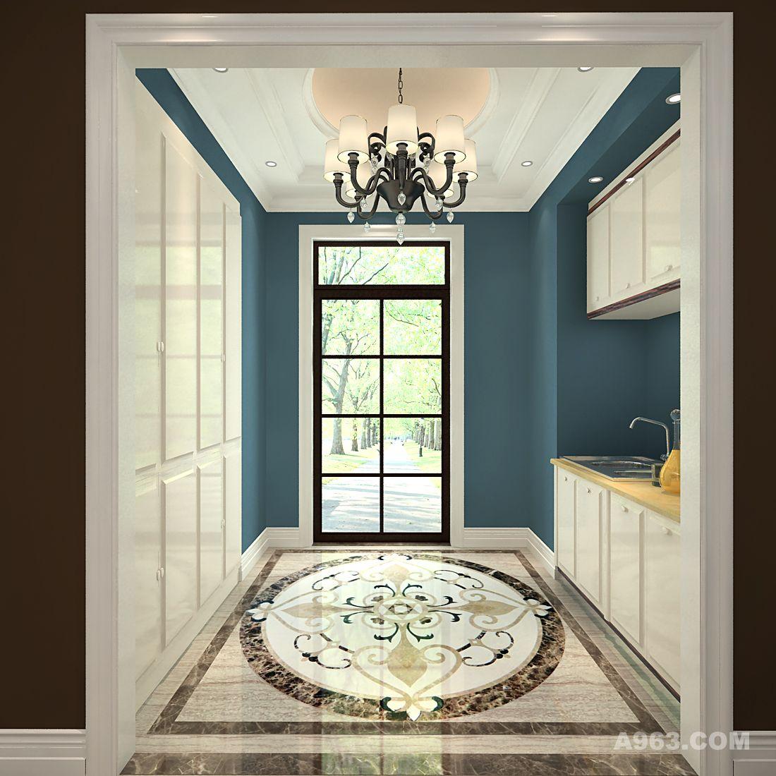 远洋傲北别墅装饰设计欧式混搭风格来自创视界品牌装饰设计说明