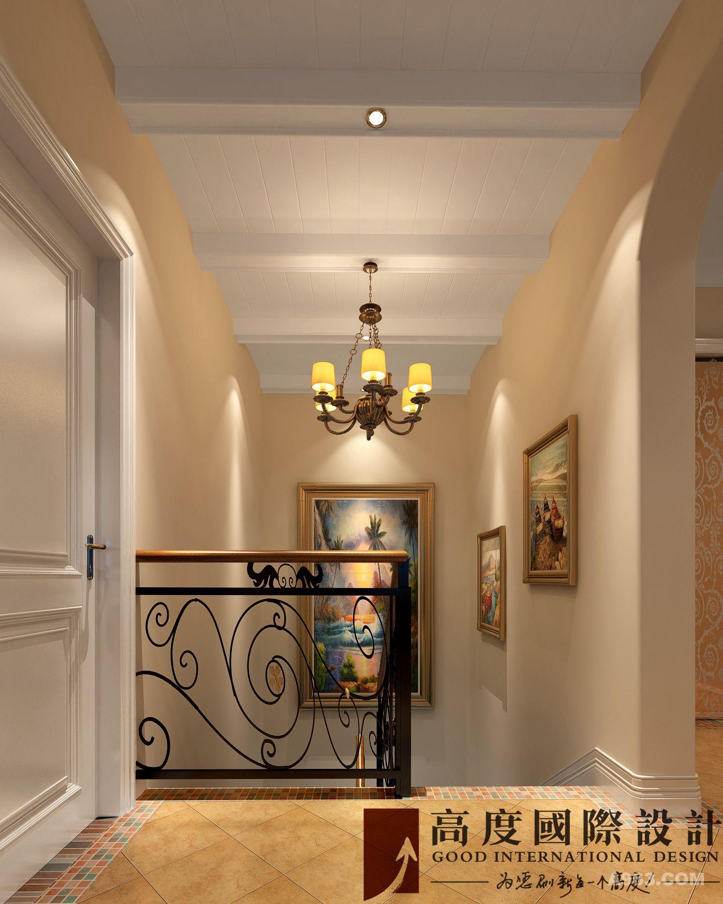 楼梯两点透视图画法