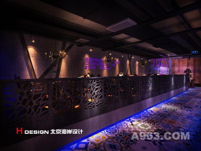 哈尔滨烧烤酒吧,室内设计,北京海岸设计.
