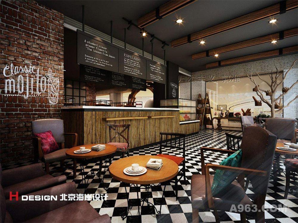 拉那巴米鄞州万达店咖啡馆设计室内设计案例